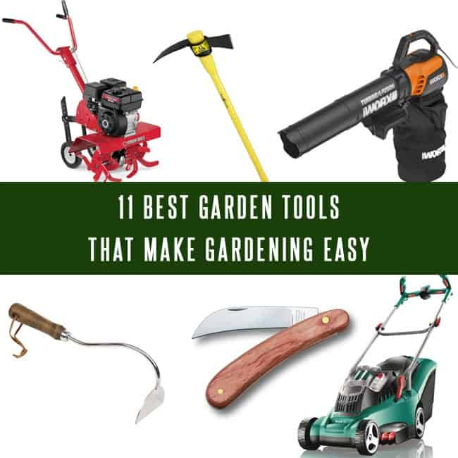 Tools for gardening 11 best garden tools that make for Best gardening equipment
