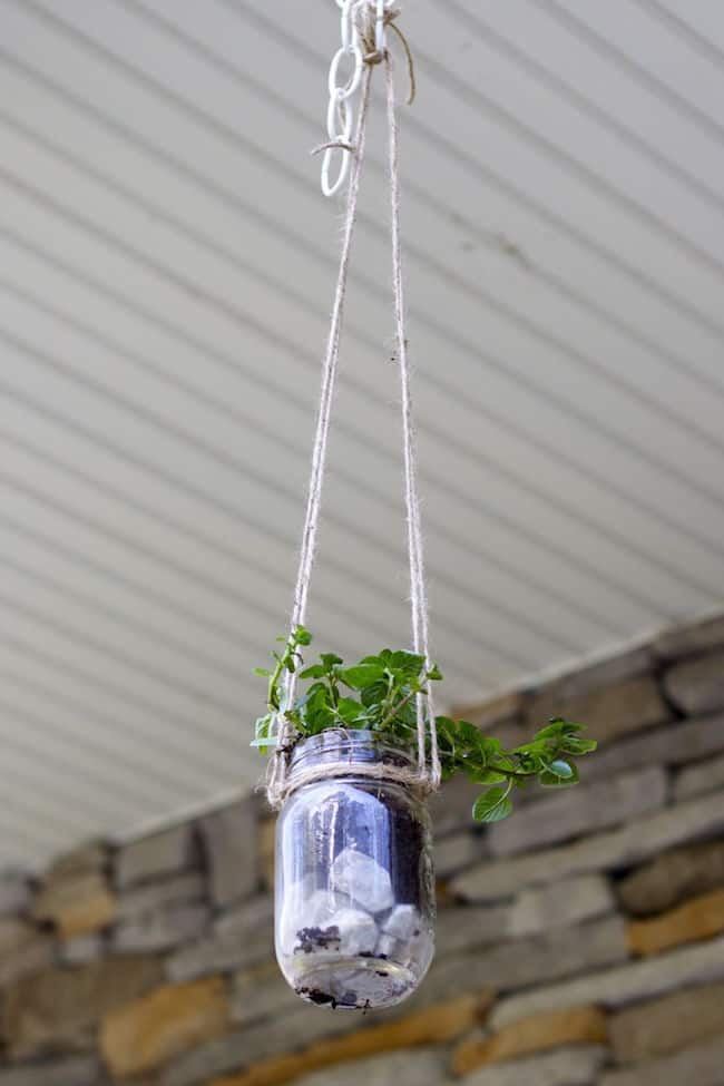 small herb garden idea