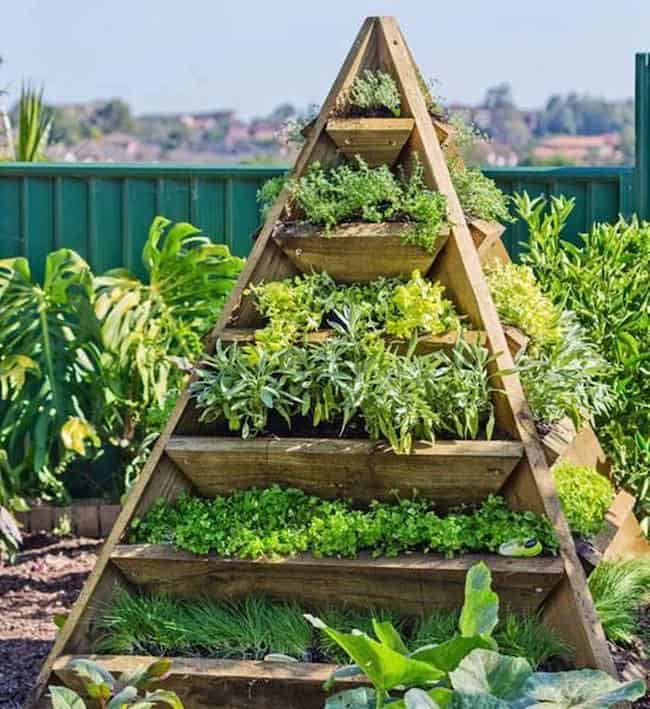 Beau Small Herb Garden Ideas