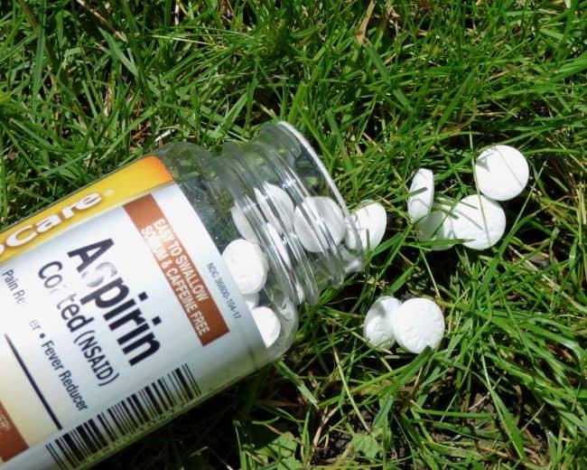 Aspirin uses in Garden