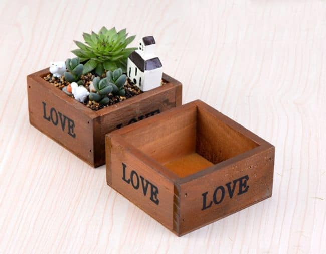 DIY Planter Boxes