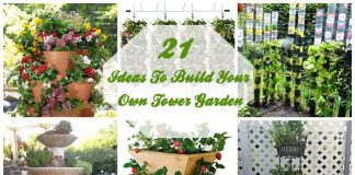 21 Ideas To Build Your Own Tower Garden