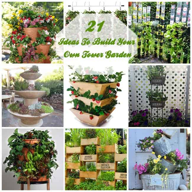 Build Your Own Aeroponic Tower Garden