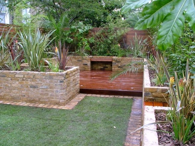 Brick Garden Edging And Raised Bed