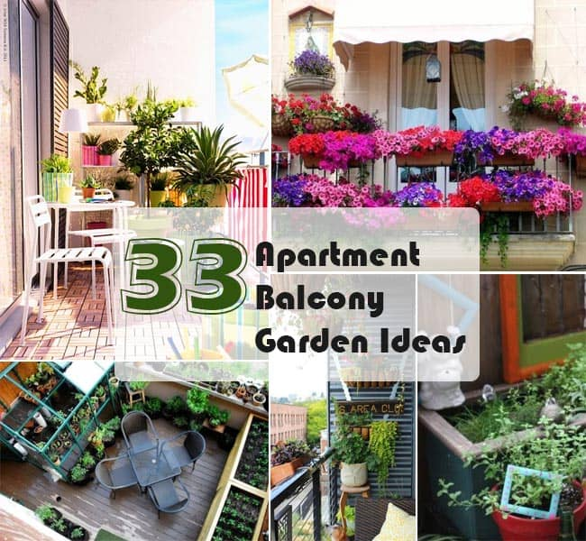 33 Apartment Balcony Garden Ideas That You Will Love