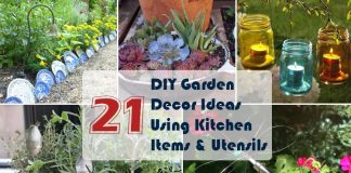DIY Garden Decor Ideas