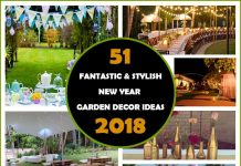 51 Fantastic And Stylish New Year Garden Decor Ideas for 2018