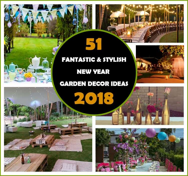 New Year Garden Decor Ideas