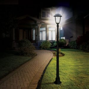 Solar Powered Lamp Posts