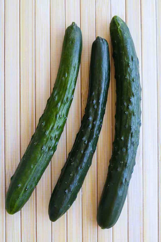 Types of Cucumber Plants